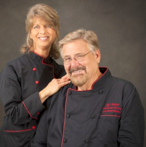 Chefs Jeff and Nancy Riedesel